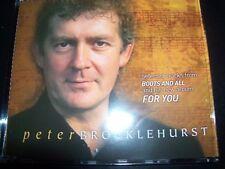 Peter Brocklehurst E Lucevan Le Stelle / Danny Boy Promo CD Single – Like New