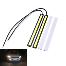 2x Waterproof 12V LED COB Car Auto DRL Driving Daytime Running Lamp Fog LightU9D