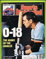 Sports Illustrated Magazine May 2, 1988 - Billy Ripken Baltimore Orioles   B1
