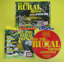 CD ALL THE RURAL THINGS compilation PROMO 2000 MOBY ELASTICA BROWN (C2)no lp mc