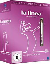 LA LINEA completa Serie TV SPECIALE EDIZIONE LIMITATA incl. Pin/Penna 3 Box DVD
