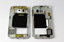 For Samsung Galaxy S6 Edge, Middle Chassis Replacement Casing - White
