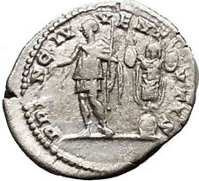 GETA as Caesar 200AD Silver Authentic Ancient Roman Coin Trophy  i51125