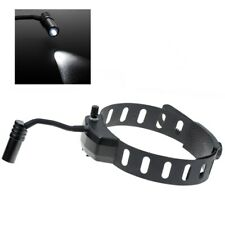 Dental Wireless 5W LED Headlight ENT Medical Headband Head Light Lamp Black
