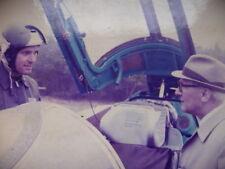 Der Staatsratsvorsitzende im Gespräch mit einem MIG 21 Piloten Original Foto auf