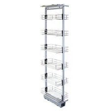 Pull Out Wire Basket Kitchen Cabinet Larder Storage Soft Close  1700-1950mm
