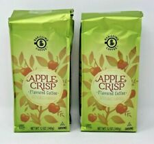 Barissimo Apple Crisp Flavored Ground Coffee 12 Oz Bags Lot of 2 NEW Sealed