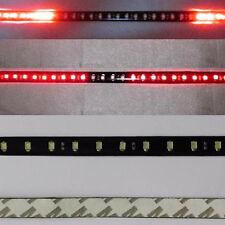 1x Red 60CM 48Leds 8 Flashing Modes Led Strobe Knight Rider Flash Strip Lights