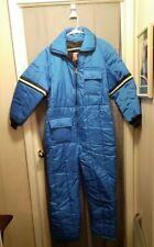 Vintage JCPENNEY Snowmobile Apparel Blue Snow Suit Unisex.Insulated Suit .EUC.