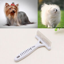 Pet Cat Dog Thick Long Short Hair Fur Shedding Remove Grooming Rake Comb Brush