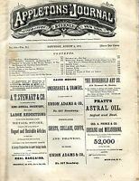 Appletons' Journal August 9 1873 Hobgoblin Hall GD 101716jhe