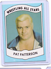 VINTAGE SERIES A ALL STARS WRESTLING CARD #26 PAT PATTERSON VGC