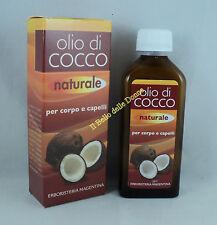Erboristeria Magentina Huile de noix coco naturel 100ml cuir corps cheveux