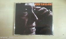MAXI CD--JOE COCKER--NEVER TEAR US APART---PROMO -1  TRACKS