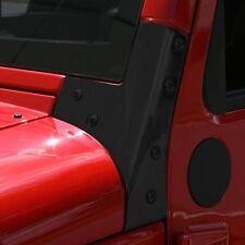 Rugged Ridge Black Windshield Hinge Pair for Jeep Wrangler JK 2007-18 11209.03