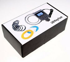 RF550 48pcs Macro LED Ring Flash Light + Ring adapter for Sony A900 A560 DSLR
