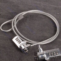 Newest Password 4 Digit Security Lock Anti-theft Chain For Notebook PC Laptop