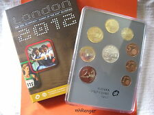 SLOWAKEI 2012 KMS COIN SET PP PROOF - OLYMPISCHE SOMMERSPIELE IN LONDON -