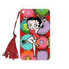 "Betty Boop Bookmark Book Mark Tassel Sphere Dance 2x4"" Lenticular #BB-210-BM#"