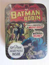 Batman and Robin 150 Piece Jigsaw Puzzle in a Metal Tin DC Comics