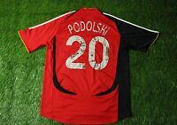 GERMANY #20 PODOLSKI 2005/2007 FOOTBALL SOCCER SHIRT JERSEY AWAY ADIDAS ORIGINAL