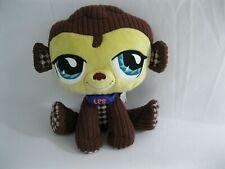 "Littlest Pet Shop Monkey Plush - LPS - 2007 - Hasbro - 8"" - Free Shipping"