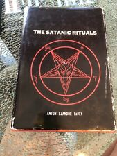 "FIRST PRINTING EDITION ""The Satanic Rituals"" Anton LaVey HARDBACK DJ UNIVERSITY"