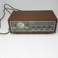 Vintage Sony 8FC-55W 9 Transistor 2 Band Solid State AM/FM Clock Radio Needs...