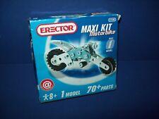 Erector Set  7080 7080D Maxi Kit 1 MOTORBIKE Model  70+ Parts NEW!