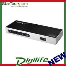 STARTECH Dual-4K Monitor Docking Station - Dual HDMI, Dual DP, or HDMI & DP 60Hz