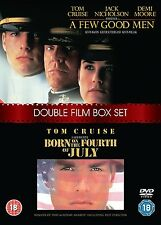 A Few Good Men / Born On The 4th Of July (DVD  2-Disc ) ( BRAND NEW & SEALED )
