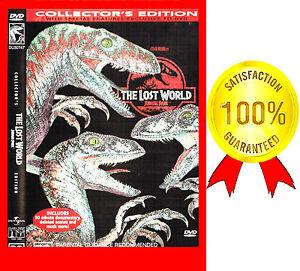 NEW DVD UNSEALED - R4, THE LOST WORLD - JURASSIC  PARK GEOFF GOLDBLUM*