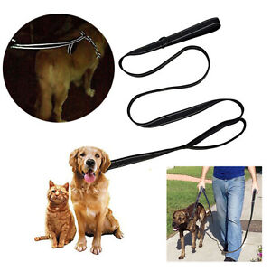 Pet Dog tow rope pulling rope nylon thicken Reflective dog rope