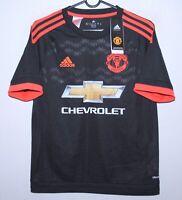 Manchester United England third football shirt 15/16 Adidas BNWT KIDS Size L