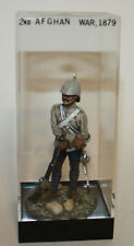 British 10th Hussar Soldier 2nd Afghan War Miniature Figurine Signed 1977 Box