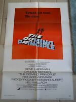 Vintage Movie Poster 1 sheet The Domino Principle 1977 Mickey Rooney