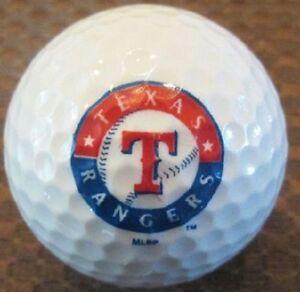 1 Dozen (Texas Rangers MLB Logo) Nike Assorted Mint Golf Balls