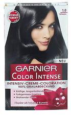 Schwarze Colorationen mit Creme-Produkte