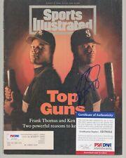 Ken Griffey Jr Signed Autograph 1994 SI Sports Illustrated Magazine PSA DNA