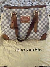 Authentic Louis Vuitton Hampstead PM Damier Azur tote bag