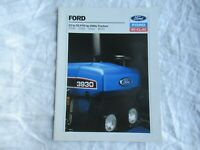 1990 Ford New Holland 3230 3430 3930 4630 utility tractor brochure 20 pages
