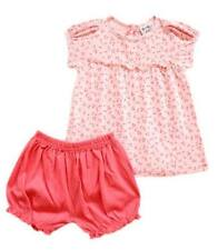 Oshkosh B'gosh Tiny Stars Puff Sleeves Bloomer Set Baby Girl Clothes, 6 months
