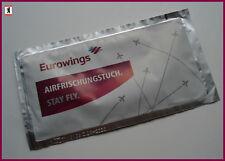Eurowings rinfrescanti Panno REFRESHING TOWEL-Lufthansa Group Airline Airways