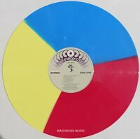 YES LP 90125 Tri-Colour VINYL 2018 Limited Edition PINK BLUE YELLOW In Stock