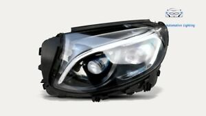 SCHEINWERFER SCHEINWERFER MERCEDES GLC W253 HYBRID LINKS  FARO HEADLIGHT TOP !!!