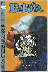 Enigma 4 Of 8 DC Vertigo by Milligan Fegredo Van Valkenburgh Jun 1993