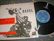 "RAVEL BOLERO VALISE CONDUCTOR EUGENE NORMANDY 10"" LP SBR 6201 PHILIPS NEAR MINT"