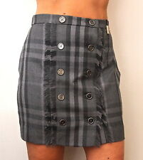 BNWOT STUNNING BURBERRY LONDON SHORT WOOL NOVA CHECK SKIRT---UK 8 USA 6