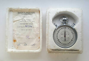 VINTAGE Soviet  SPLIT Stopwatch SLAVA . USSR.