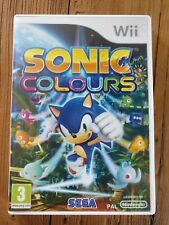 nintendo Wii,  Sonic Colours,  Ndl en Fr